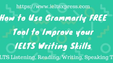 Photo of Improve IELTS Writing skills by using Grammarly