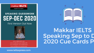 Photo of Makkar IELTS Speaking September to December 2020 PDF